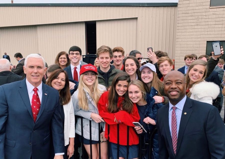 Some of our very own Skyhawks got to meet Vice President, Mike Pence, and senator Tim Scott.