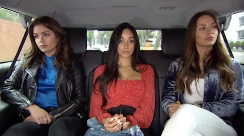 These three women are *very* excited to be going on a date with Peter.